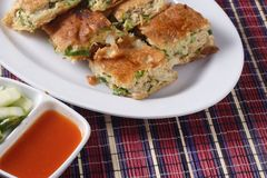 Martabak, indonesia popular food Royalty Free Stock Images