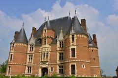 Martainville Frankrike - kan 13 2016: slott Royaltyfria Bilder