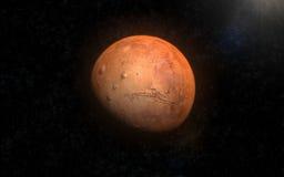 Marte 1 Fotos de archivo libres de regalías