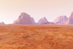 Marte ilustração royalty free