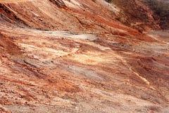 Marte abandonó la tierra Foto de archivo libre de regalías