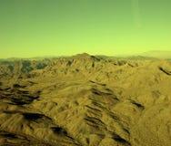 Marte-como rangos de montaña fotos de archivo libres de regalías