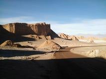 Marte en la tierra - La Luna, desierto de Atacama, Chile de Valle de Imágenes de archivo libres de regalías