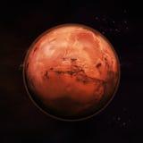 Marte - o planeta vermelho Fotografia de Stock
