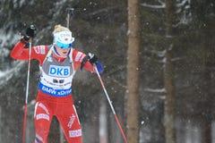 Marte Olsbu - biathlon Royalty Free Stock Image