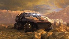 Marte Rover Space Travel Imagen de archivo