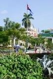 Marte square at Santiago de Cuba Royalty Free Stock Images