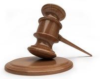 Marteau de juges Photographie stock libre de droits