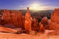 Marteau du ` s de Thor en Bryce Canyon National Park en Utah, Etats-Unis image stock
