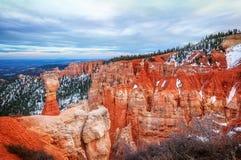 Marteau du ` s de Thor en parc national de canyon de Bryce Photo libre de droits