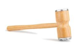 Marteau en bois de viande images libres de droits