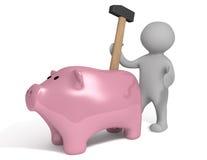 Marteau porcin Image libre de droits