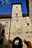 Martel is a small medieval town in the Lot region in France Royalty Free Stock Image