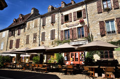 Martel is a small medieval town in the Lot region in France Stock Photo