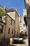 Martel is a small medieval town in the Lot region in France Stock Image