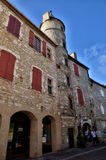 Martel is a small medieval town in the Lot region in France Stock Images