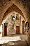 Martel is a small medieval town in the Lot region in France Royalty Free Stock Photos