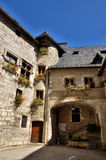 Martel is a small medieval town in the Lot region in France Stock Photos