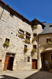 Martel is a small medieval town in the Lot region in France Royalty Free Stock Photo
