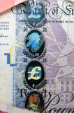 Martela holograma da segurança Fotos de Stock Royalty Free