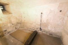 Martelingsruimte bij Oberhofen-Kasteel, Zwitserland royalty-vrije stock fotografie