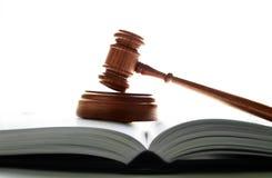 Martelletto della corte Immagini Stock Libere da Diritti