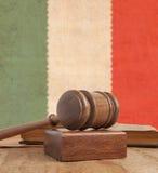 Martelletto di legno Immagini Stock Libere da Diritti