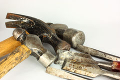 Martelli & scalpelli fotografie stock libere da diritti