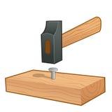 martello illustrazione di stock