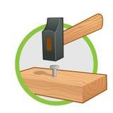 martello illustrazione vettoriale