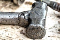 Martello del ferro Fotografia Stock Libera da Diritti
