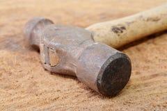 Martello della penna della palla Fotografie Stock Libere da Diritti