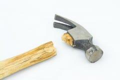 Martello rotto Fotografia Stock Libera da Diritti