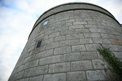 Martello tower. Royalty Free Stock Image