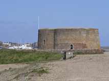Martello Tower Aldeburgh Town  Suffolk Royalty Free Stock Photo