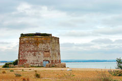 Martello tower Eastbourne England Royalty Free Stock Images