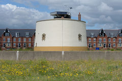 Martello tower at Felixstowe Stock Images