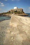 Causeway to Fort Grey Guernsey Royalty Free Stock Photo