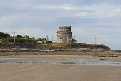 Martello Tower Portmarnock Beach Dublin North Ireland. Martello Tower at Portmarnock Beach Dublin North Ireland Stock Image