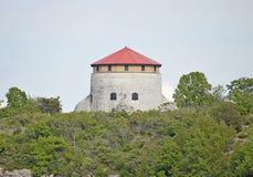 Martello-Turm - konstruiert bei Cedar Island Stockbilder