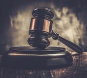Martelo do juiz Foto de Stock Royalty Free