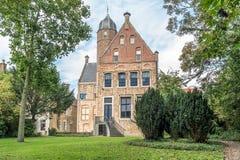 Martena博物馆在弗拉讷克,弗里斯,荷兰 免版税库存图片