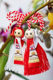 Bulgarian Martenitsa spring sign Royalty Free Stock Photos
