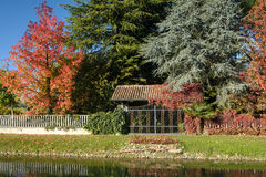 Martesana Mailand, Italien: Herbst Stockfotografie
