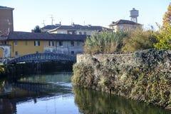 Martesana Milan, Italy: Gorgonzola Royalty Free Stock Images