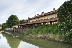 Martesana (Milan) Royalty Free Stock Image