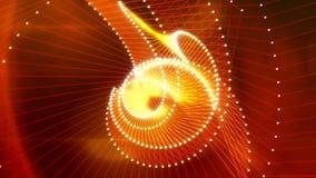 Martha 2 de Abstracte Verbonden Dots And Lines Video Background Lijn van //1080p vector illustratie