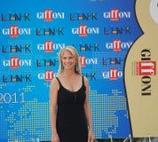 Martha De Laurentiis al Giffoni Film Festival 2011 Fotografering för Bildbyråer