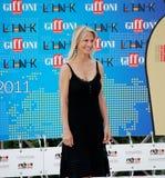 Martha De Laurentiis al Giffoni Film Festival 2011 Stockfotografie