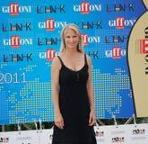 Martha De Laurentiis al Giffoni Film Festival 2011 Royaltyfri Bild